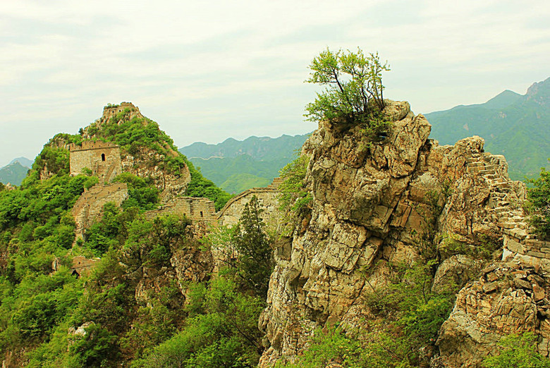 best sections of the Great Wall to visit