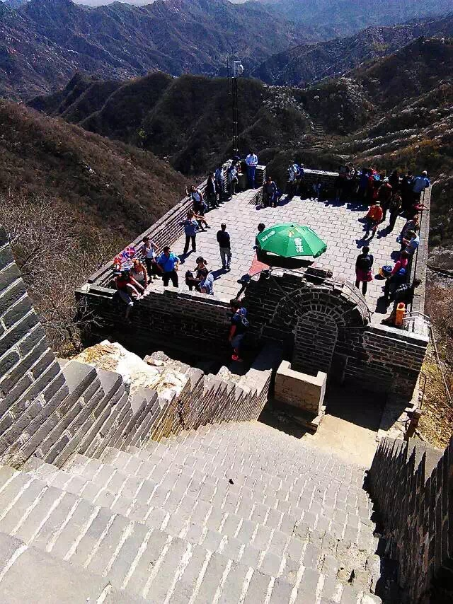 Mutianyu Great Wall Status Updates Tower 20 Is Closed On