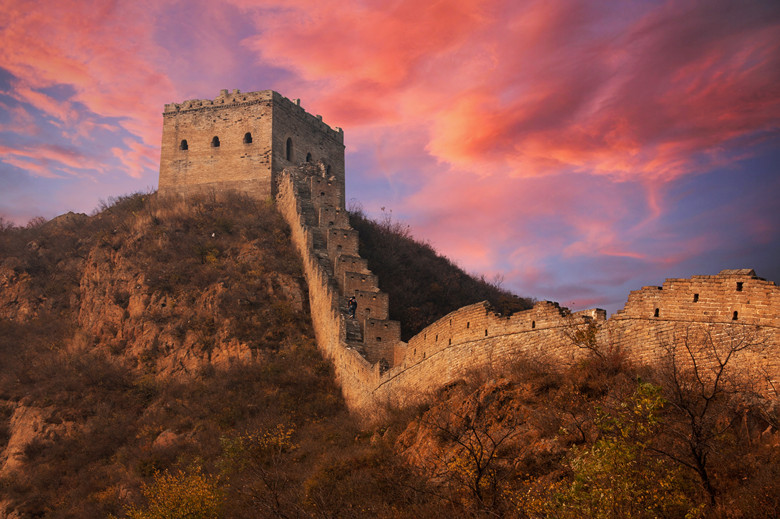 great wall facts for kids