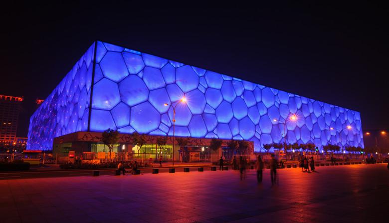 Beijing Bird S Nest Stadium Amp Water Cube Wild Great Wall