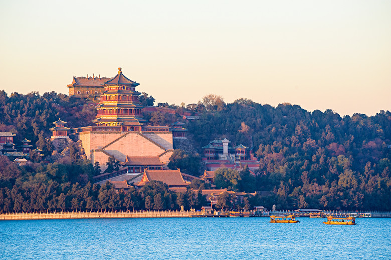 Scenery of Summer Palace, Beijing