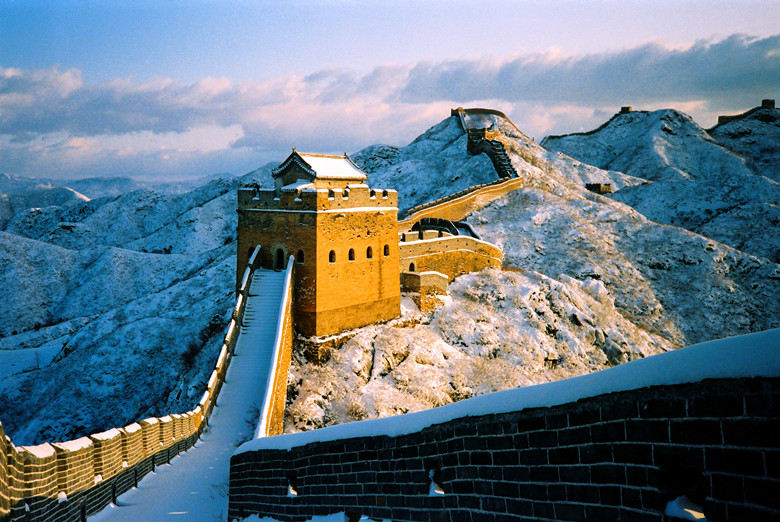 great wall hiking winter