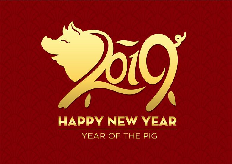 Happy (Chinese) New Year 2019