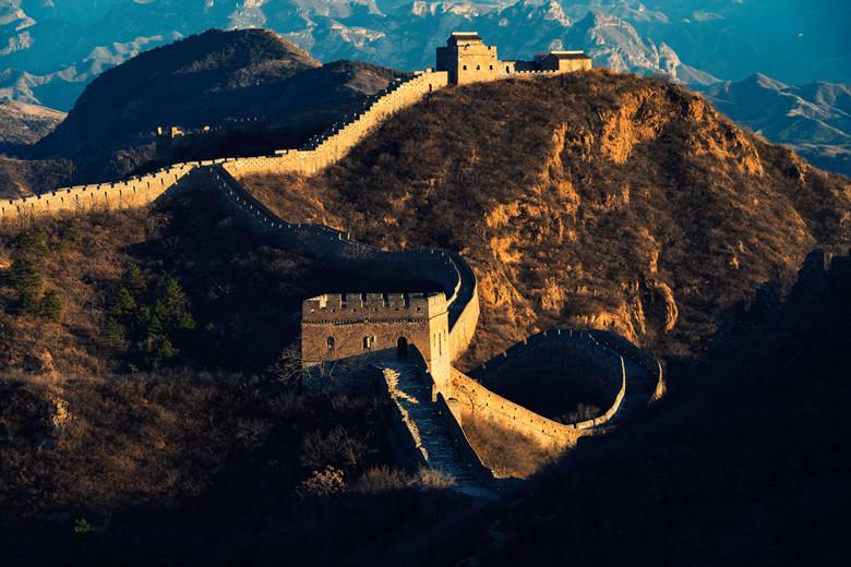 Great Wall at beijing,china