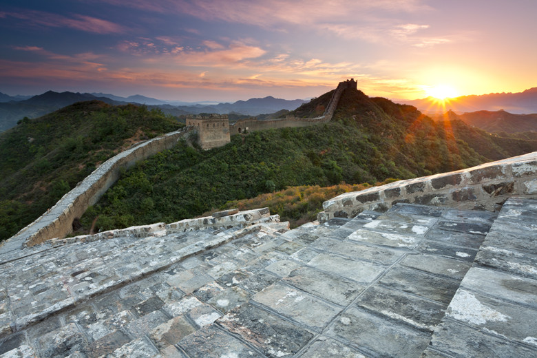 How to Pee While Hiking the Great Wall of China