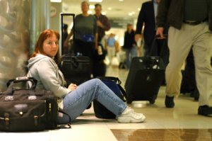 Airport layovers: you don't have to be like this
