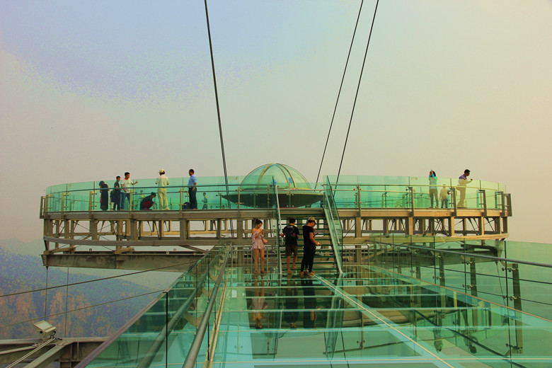 Shilingxia glass bridge