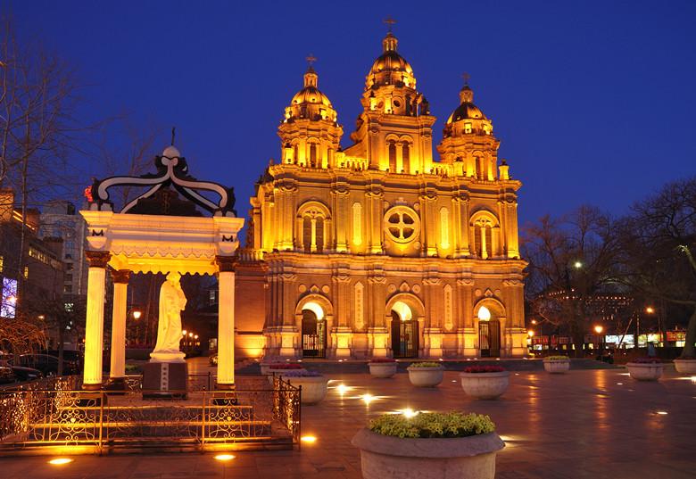 Beijing Wangfujing church