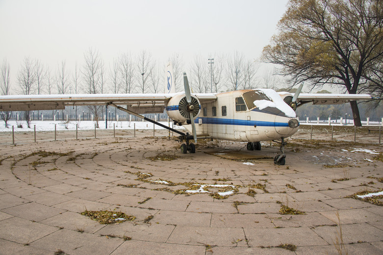 Visit--China Aviation Museum in Beijing